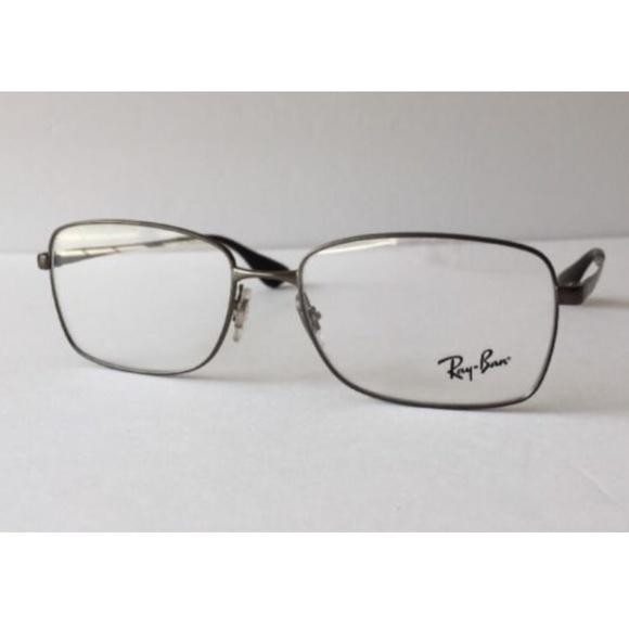 6699d06eef7d ... Michael Kors Womens MK 281M 618 Burgundy Rectangle Plastic Eyeglasses-52mm  Ray-Ban Matte Gunmetal Eyeglasses RB 6336M 2620 ...